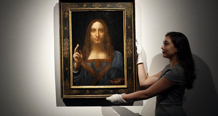 Salvator Mundi de Leonardo da Vinci.