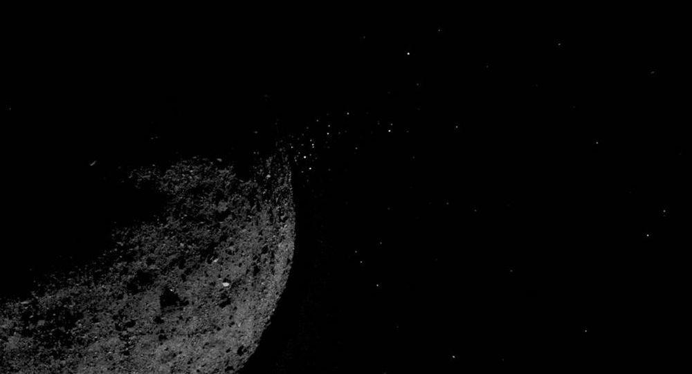 Asteroide Bennu capturado em foto pela sonda OSIRIS-REx da NASA