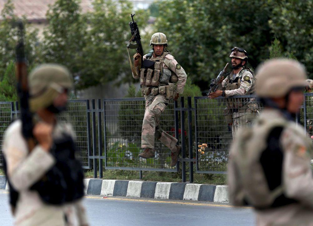 Forças de segurança afegãs (foto de arquivo)
