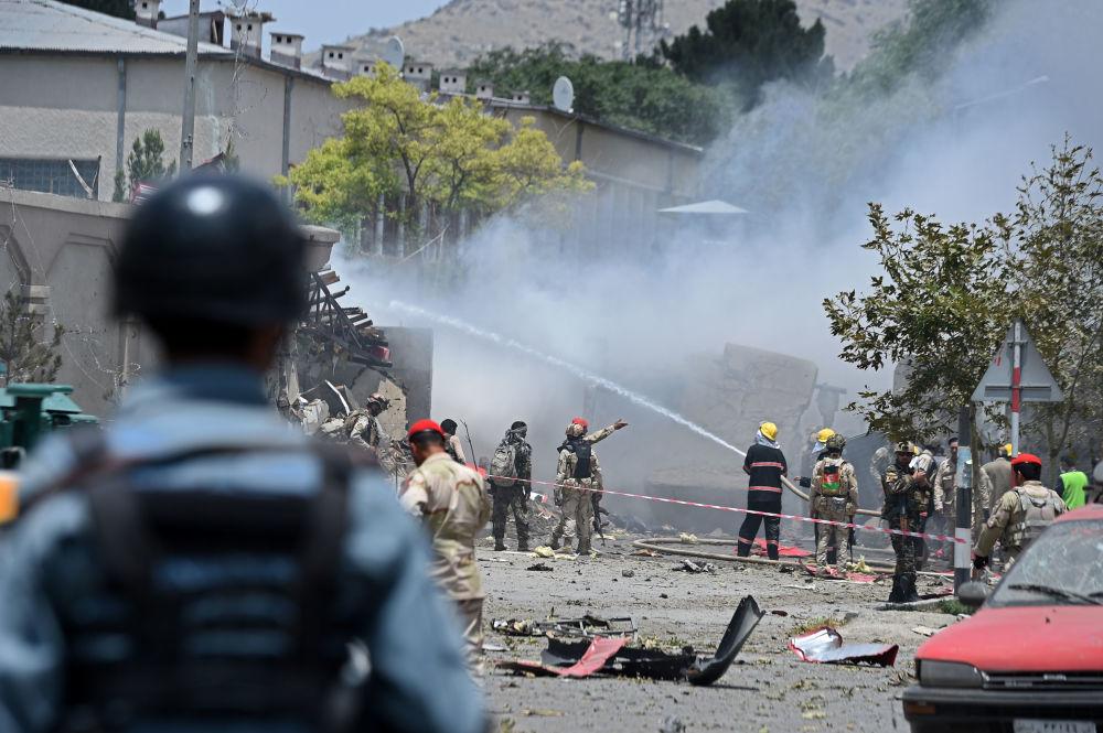 Consequências das explosões em Cabul