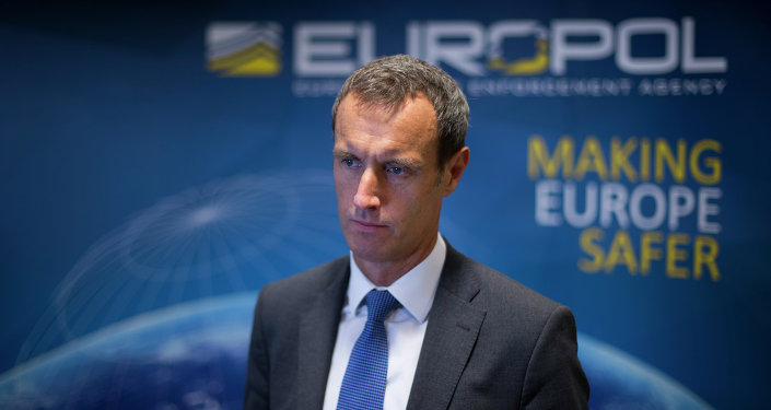 Diretor do Europol, Rob Wainwright