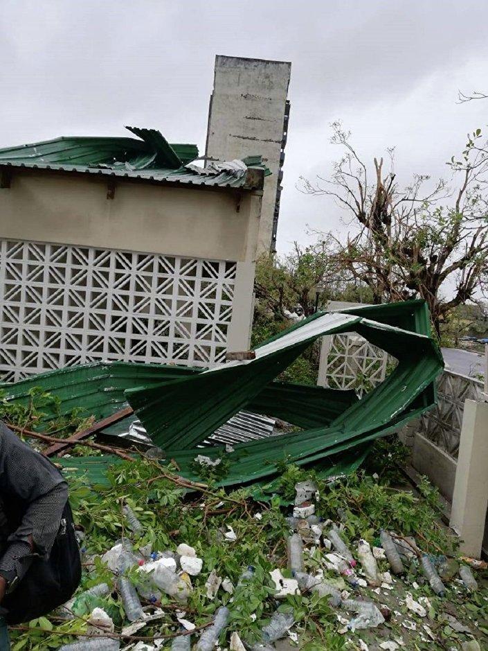 Consequências do ciclone Idai em Moçambique