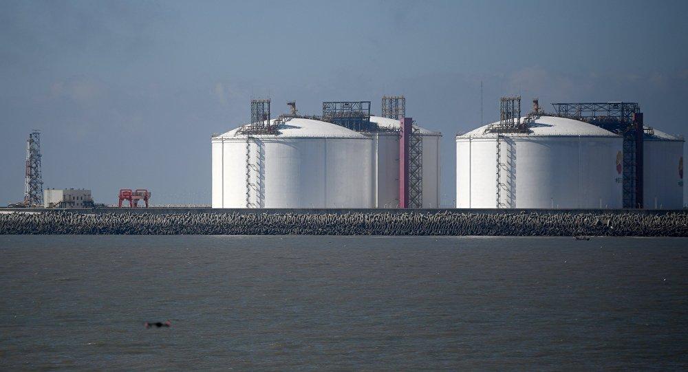 Reservas de gás na China
