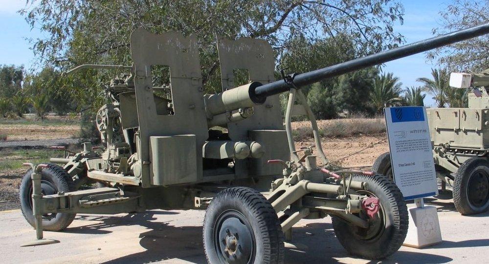 Canhão soviético S-60