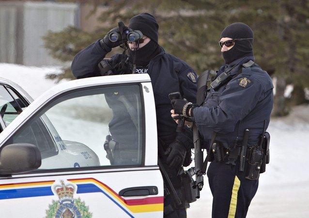 Polícia canadense (imagem referencial)