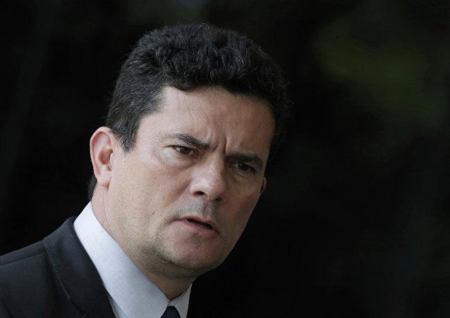 Sergio Moro, ministro da Justiça e Segurança Pública do Brasil
