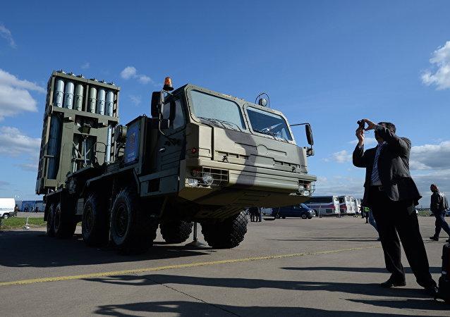 Sistema da defesa antiaérea S-350 Vityaz