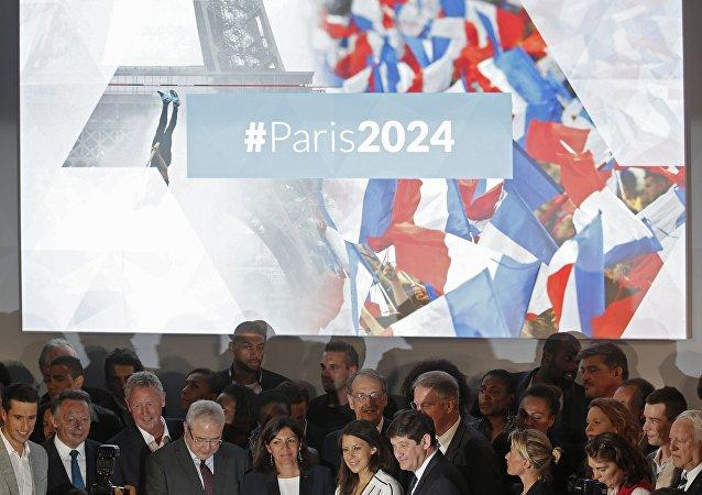 Lançamento da candidatura de Paris aos Jogos Olímpicos e Paralímpicos de 2024