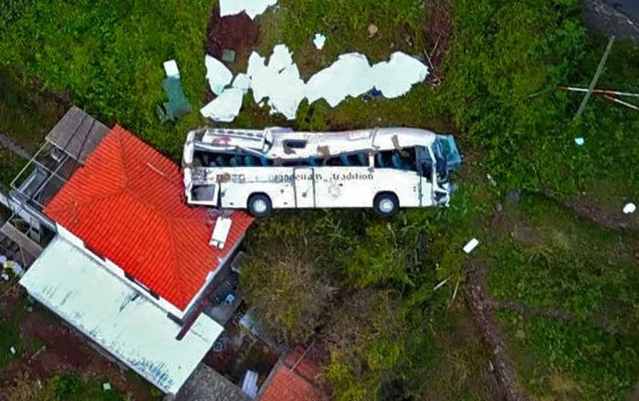 Consequências do acidente de ônibus na ilha portuguesa da Madeira