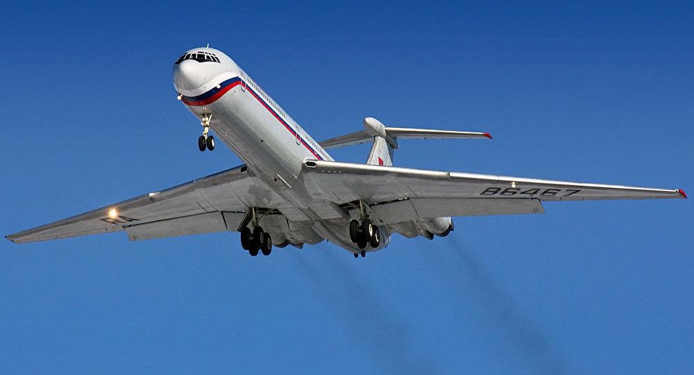 Avião russo Il-62M