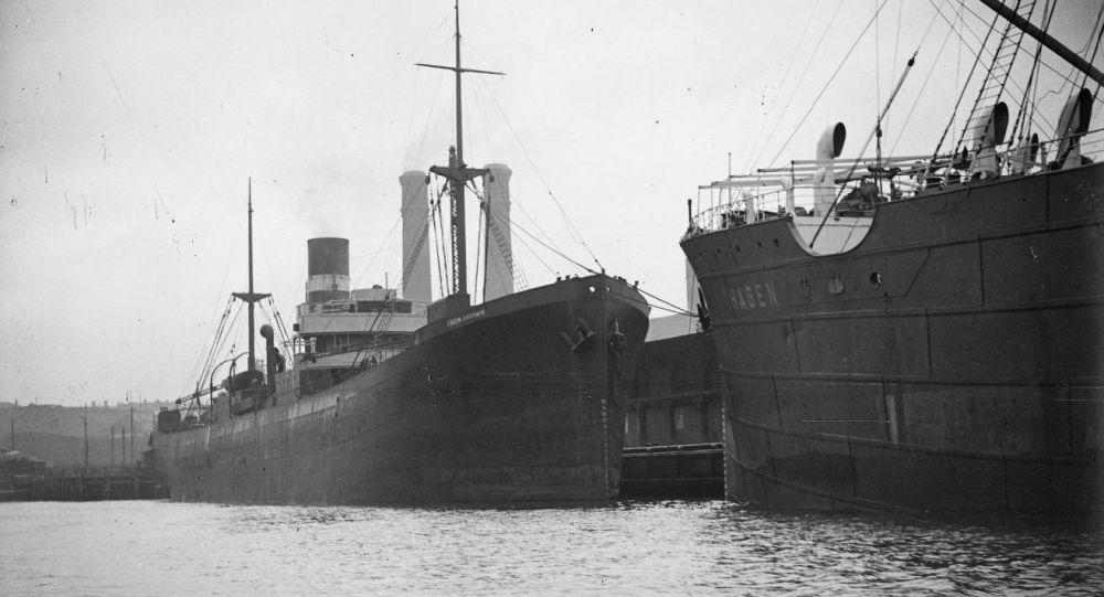 Navio australiano SS Iron Crown