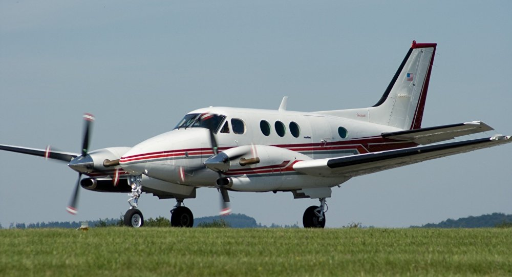 Avião Beechcraft Duke (imagem referencial)