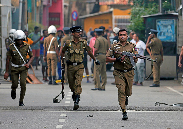 Polícia do Sri Lanka