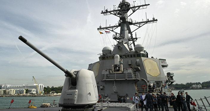 Destróier da Marinha americana USS Stethem