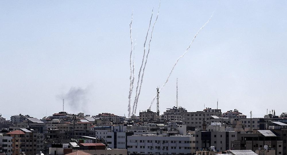 Lançamento de foguetes da Faixa de Gaza, 4 de maio, 2019