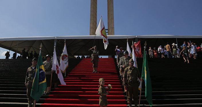 A cerimônia do Regimento Imortal no Rio