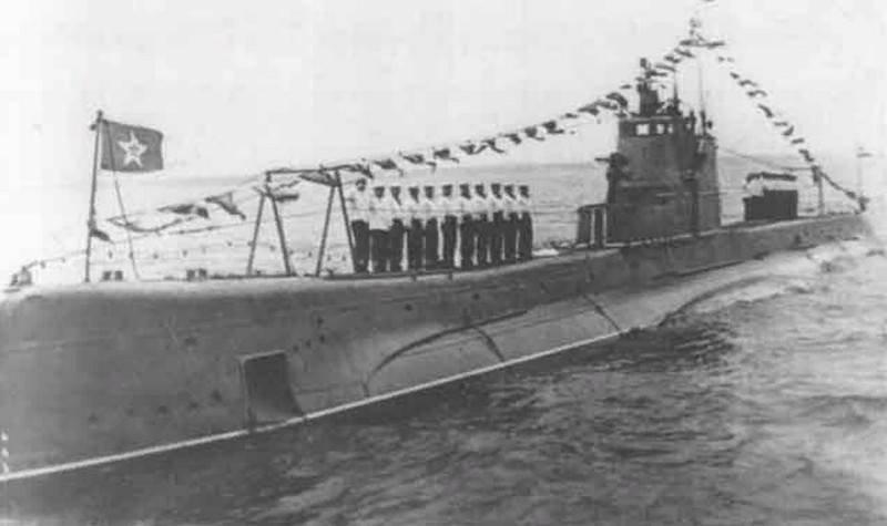 Submarino soviético Shch-302 Okun
