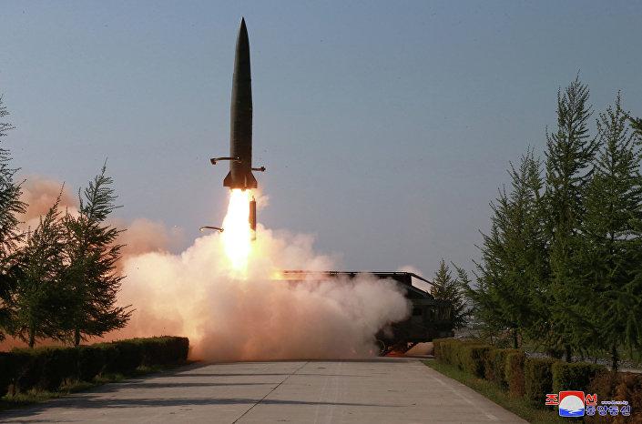 Lançamento de mísseis norte-coreanos, 9 de maio de 2019