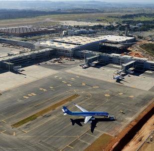 Aeroporto Internacional de Viracopos no Brasil