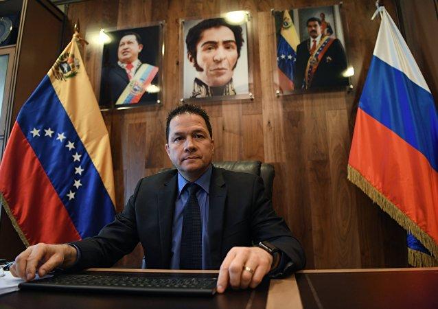 Carlos Rafael Faría Tortosa, embaixador da Venezuela na Rússia.