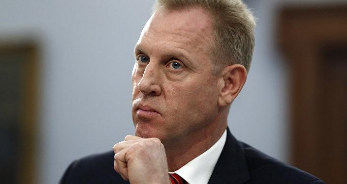 Secretário interino de Defesa dos EUA, Patrick Shanahan