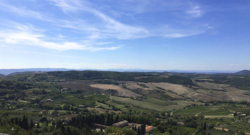Região italiana de Toscana (imagem referencial)