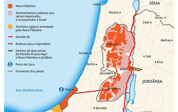 'Acordo do século': plano dos EUA para resolver conflito israelo-palestino