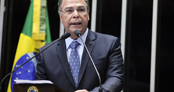 O líder do governo do Senado, Fernando Bezerra (PSB-PE)