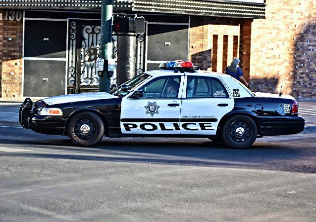 Carro de polícia nos EUA (imagem referencia)