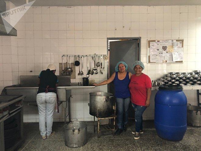 Uma forma de lutar contra a guerra econômica na Venezuela é alimentar os jovens que serão o futuro da Venezuela contra todas as probabilidades