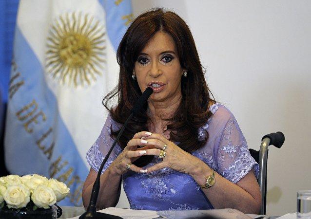 Kristina Kirchner, presidente da Argentina