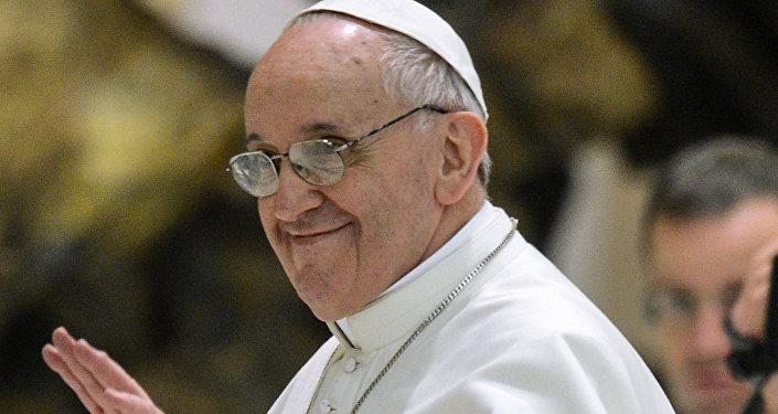Encontro do Papa Francisco com jornalistas
