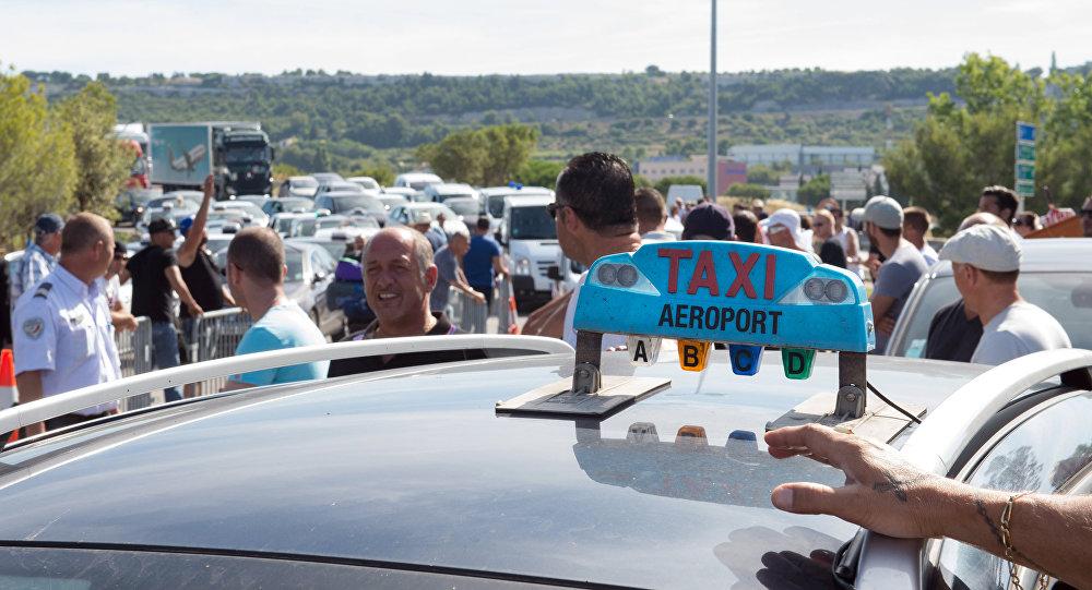 Greve de táxis na França