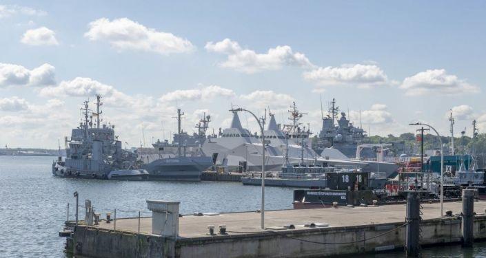 Navios participantes dos exercícios navais BALTOPS 2019
