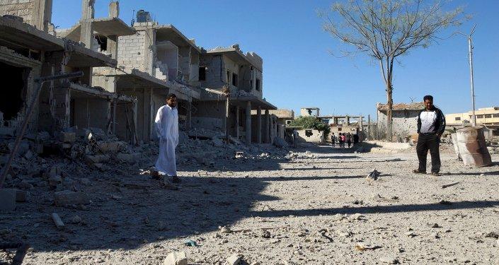 Cidade de Daraa, na Síria