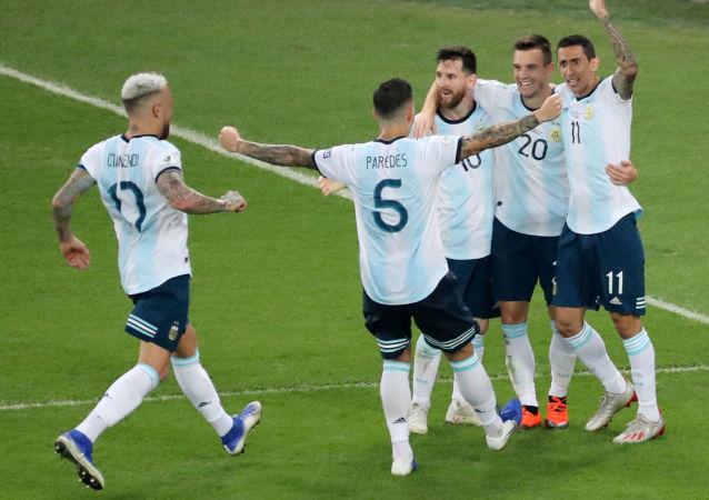 Gol da Argentina