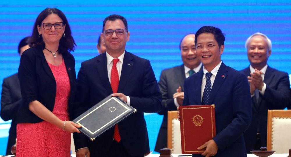 Acordo de livre comércio entre UE e Vietnã