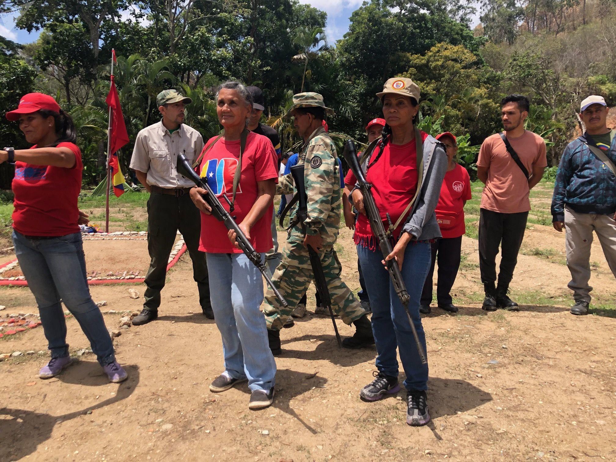Há um povo humilde, uma massa poderosa, chavista e leal aos 20 anos da Revolução Bolivariana, capaz de dar o seu melhor em caso de intervenção estrangeira