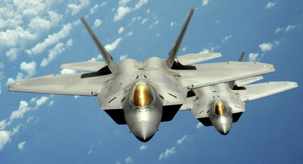 F-22 Raptor da Força Aérea dos EUA