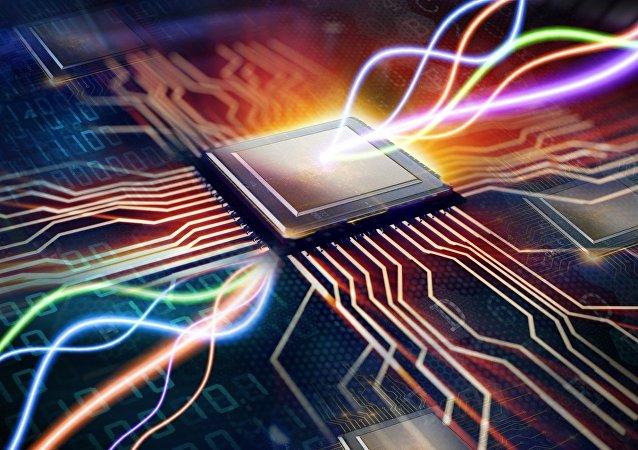 Microchip (imagem referencial)