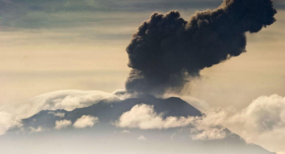 Vulcão Ubinas no Peru