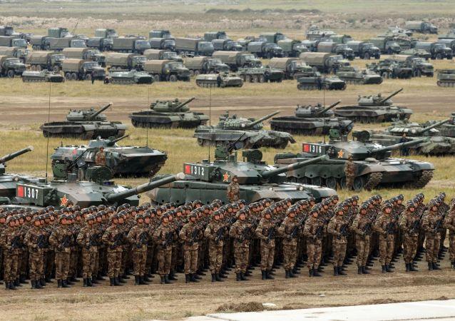 Manobras militares conjuntas entre Rússia e  China