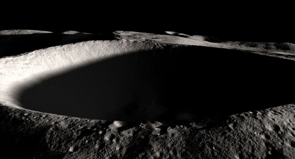 Polo Sul da Lua