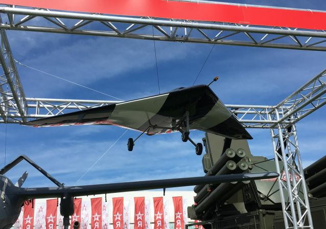 Maquete do drone Caçador