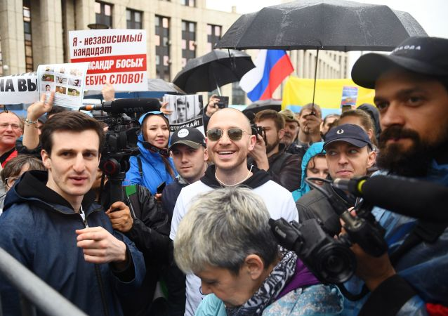 Manifestação autorizada em Moscou, 10 de agosto 2019