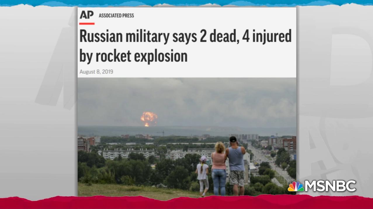 Da mesma forma, MSNBC usou a mesma foto para reportagem