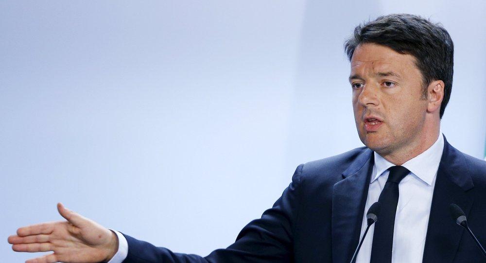 Presidente del Consiglio Matteo Renzi