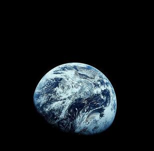 Imagem da Terra a partir da Apollo 8
