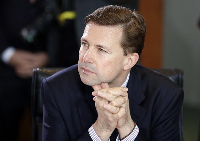 Steffen Seibert, porta-voz do governo de Angela Merkel (Arquivo)