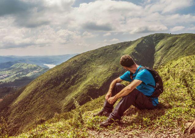 Observando paisagem no Brasil